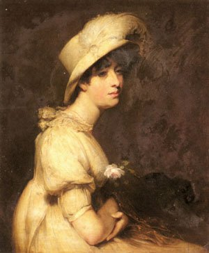 Portrait of Dorothy Westmacott   William Owen   oil painting