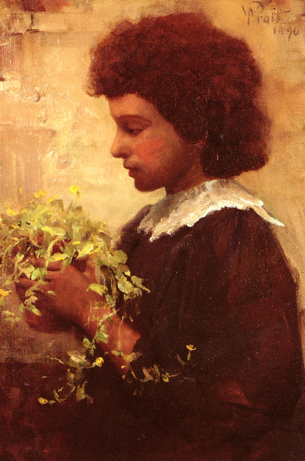 The Little Gardener | William Pratt | oil painting