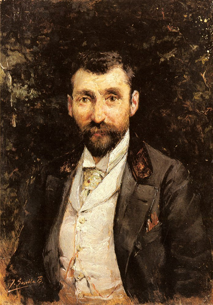 Portrait Of A Gentleman | Joaquin Y Bastida Sorolla | oil painting