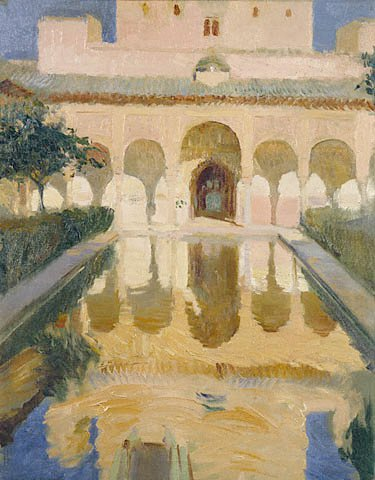 Hall of the Ambassadors Alhambra Granada GTY | Joaquin Y Bastida Sorolla | oil painting