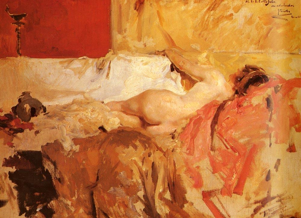 Bacante | Joaquin Y Bastida Sorolla | oil painting