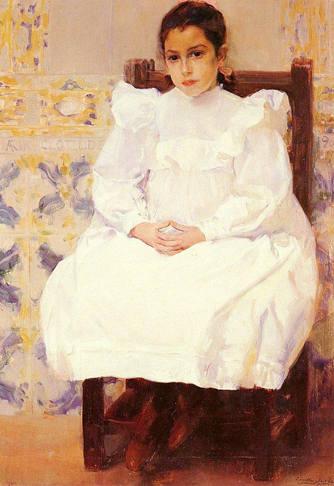 Maria | Joaquin Y Bastida Sorolla | oil painting