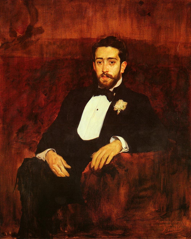 Retrato Del Abogado Don Silverio De La Torre | Joaquin Y Bastida Sorolla | oil painting