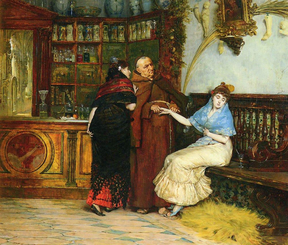 Lovesick | Y Gonzalez Vicente Palmaroli | oil painting