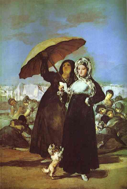 A Woman Reading A Letter 1812-14 | Francisco De Goya | oil painting