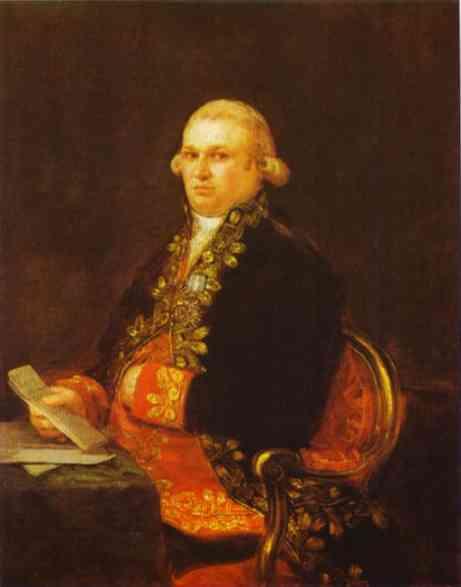 Don Antonio Noriega 1801 | Francisco De Goya | oil painting