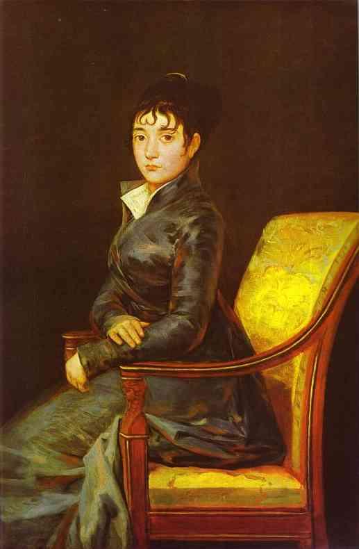 Dona Teresa Sureda 1805 | Francisco De Goya | oil painting