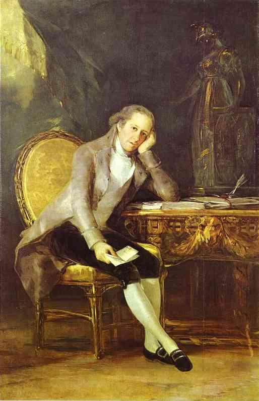 Gaspar Melchor De Jovellanos 1798 | Francisco De Goya | oil painting