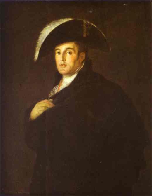 Goya The Duke Of Wellington 1812   Francisco De Goya   oil painting