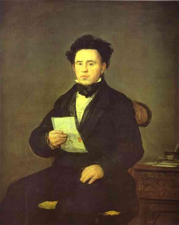Juan Bautista De Maguiro 1827 | Francisco De Goya | oil painting