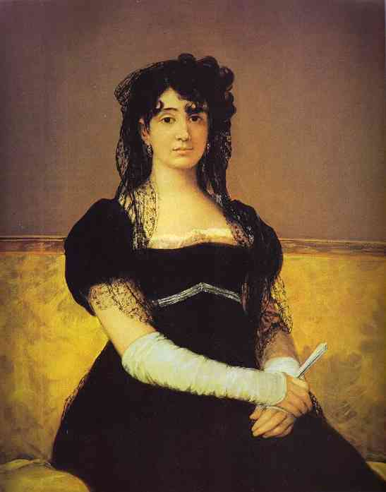 Portrait Of Antonia Zarate 1805 | Francisco De Goya | oil painting