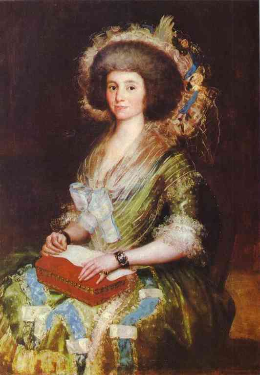 Portrait Of Senora Bermusezne Kepmasa 1800 | Francisco De Goya | oil painting
