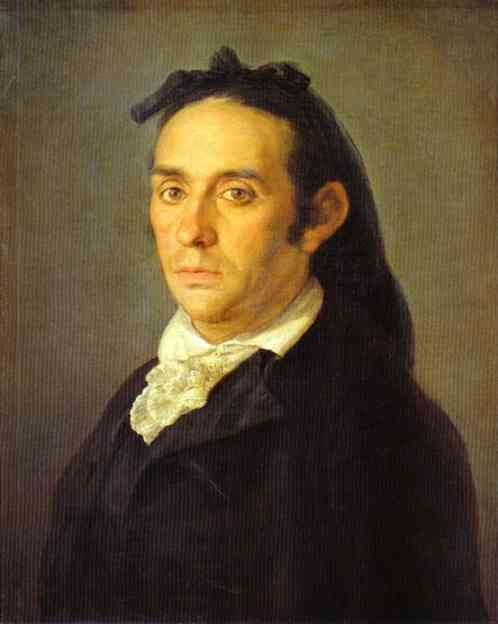 Portrait Of The Artist Julio Asensio | Francisco De Goya | oil painting