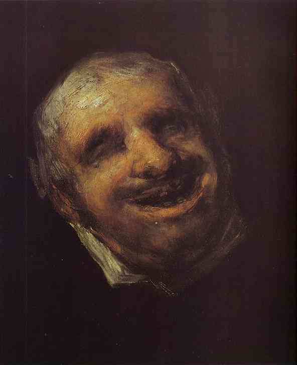 Tio Paquete 1820 | Francisco De Goya | oil painting