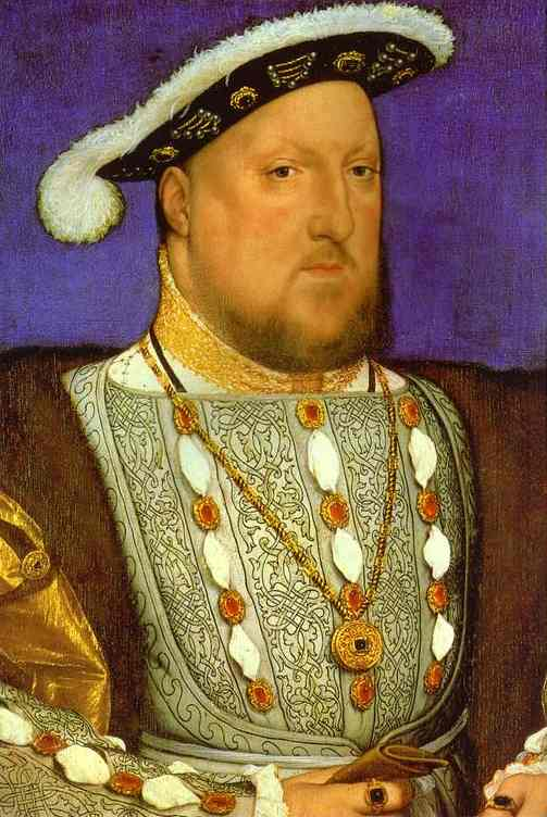 Portrait Of Henry VIII 1536 | Younger Hans Holbein | oil painting