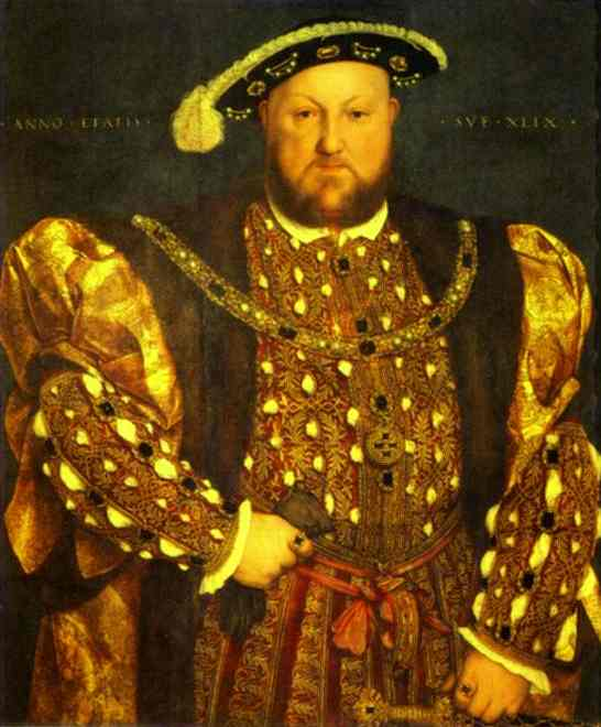 Portrait Of Henry VIII 1540 | Younger Hans Holbein | oil painting