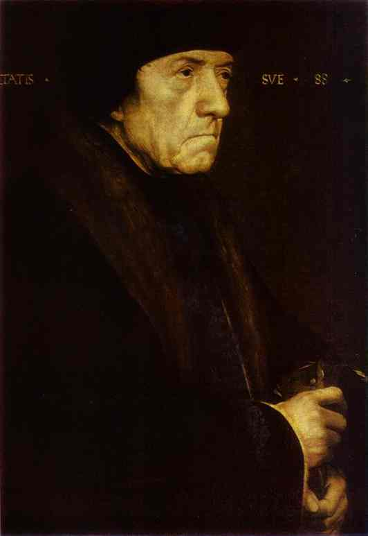 Portrait Of John Chambers 1543 | Younger Hans Holbein | oil painting