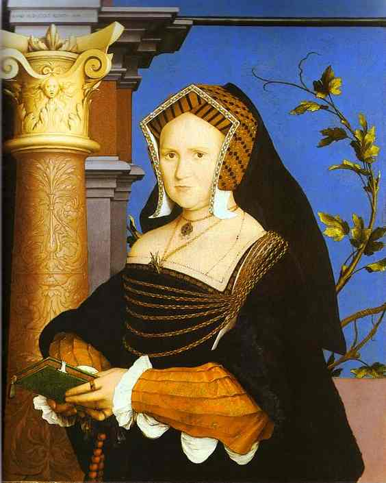 Portrait Of Lady Guildford 1527 | Younger Hans Holbein | oil painting