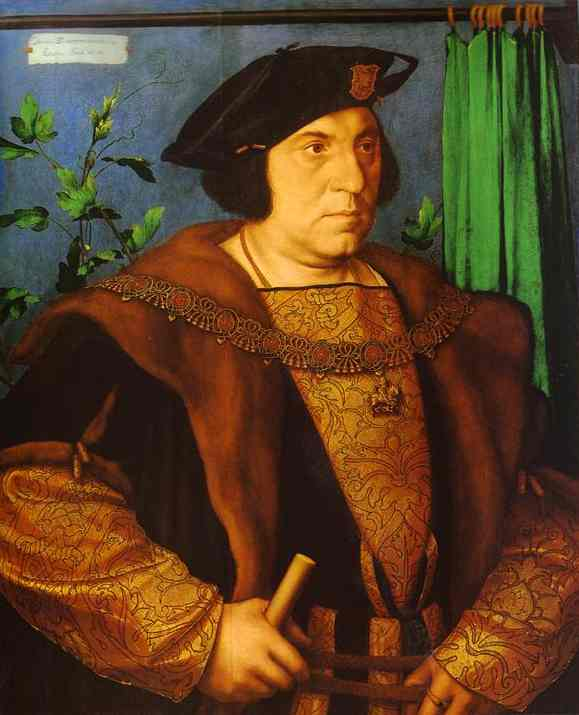 Portrait Of Sir Henry Guildford 1527 | Younger Hans Holbein | oil painting