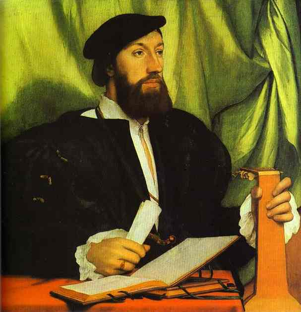 Portrait Of Sir Thomas More 1527 | Younger Hans Holbein | oil painting