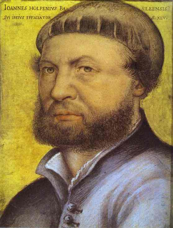 Self Portrait | Younger Hans Holbein | oil painting