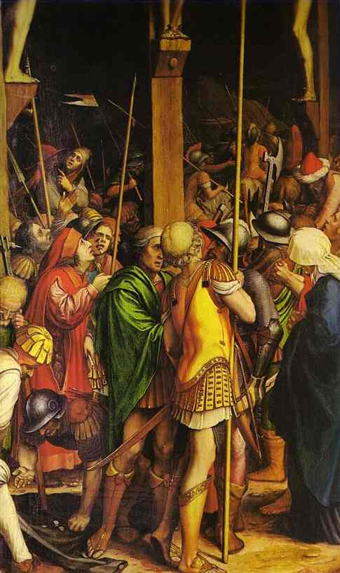 The Passion Of Christ Detail 2 1524 | Younger Hans Holbein | oil painting