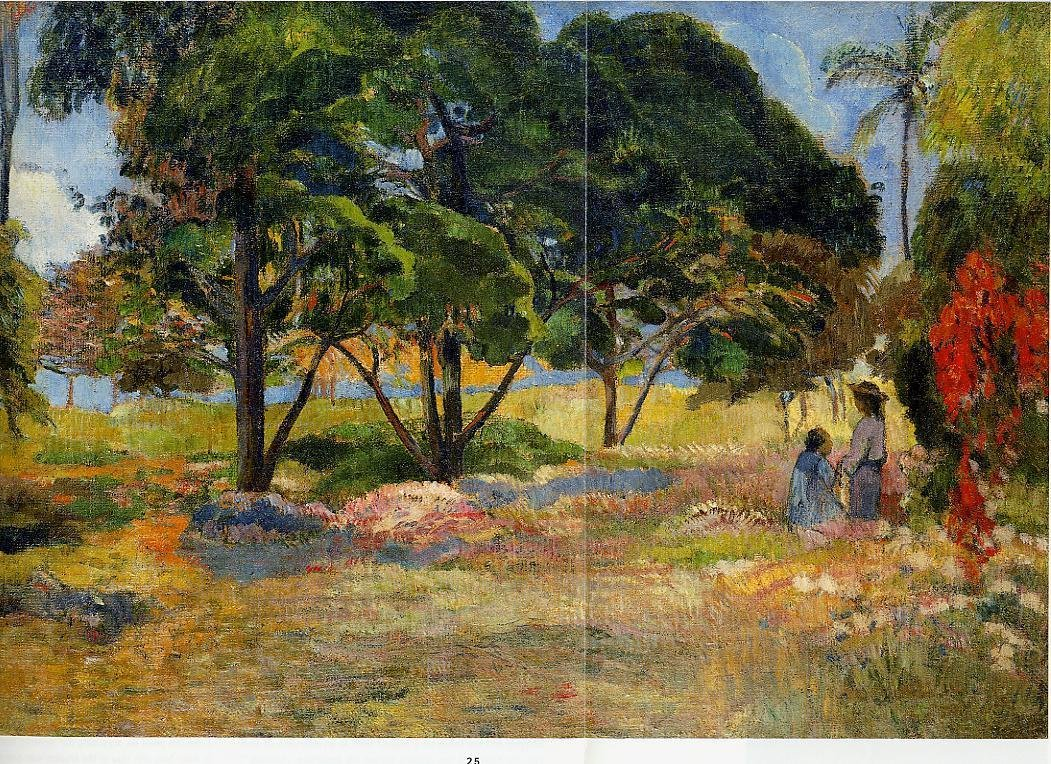 Landscape with Three Trees 1892 | Paul Gauguin | oil painting
