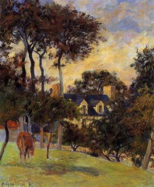 White House 1885 | Paul Gauguin | oil painting