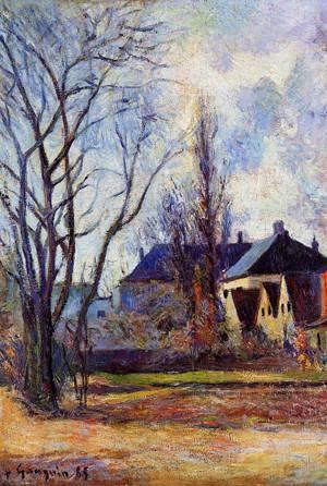 Winter's End 1885 | Paul Gauguin | oil painting