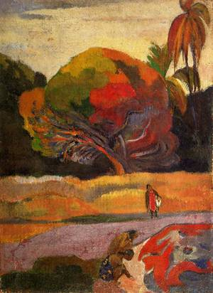 Women at the Riverside 1892 | Paul Gauguin | oil painting