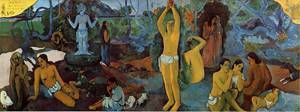 Where do We Come From What are We Doing Where are We Going 1897 | Paul Gauguin | oil painting