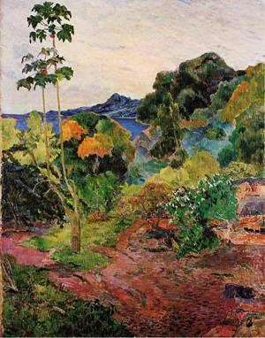 Tropical Vegitation 1887 | Paul Gauguin | oil painting