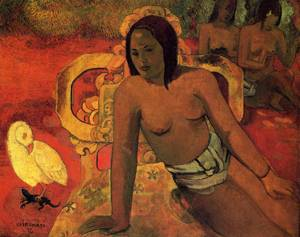 Vairumati 1897 | Paul Gauguin | oil painting