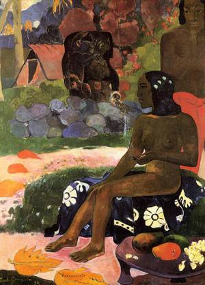 Viaraumati Tei Oa (aka Her Name is Viaraumati) 1892 | Paul Gauguin | oil painting