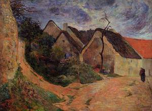 Village Street Osny 1883 | Paul Gauguin | oil painting