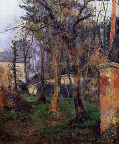 Abandoned Garden Rouen 1884 | Paul Gauguin | oil painting