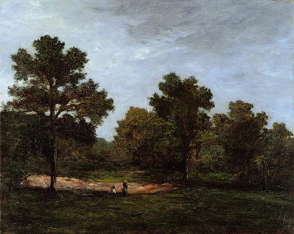 A Clearing 1873 1874 | Paul Gauguin | oil painting