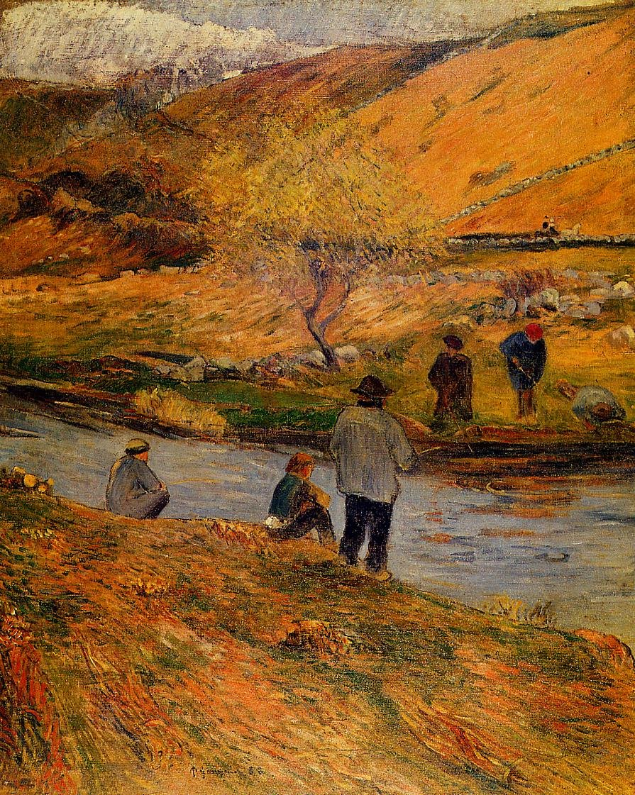 Breton Fishermen 1888 | Paul Gauguin | oil painting
