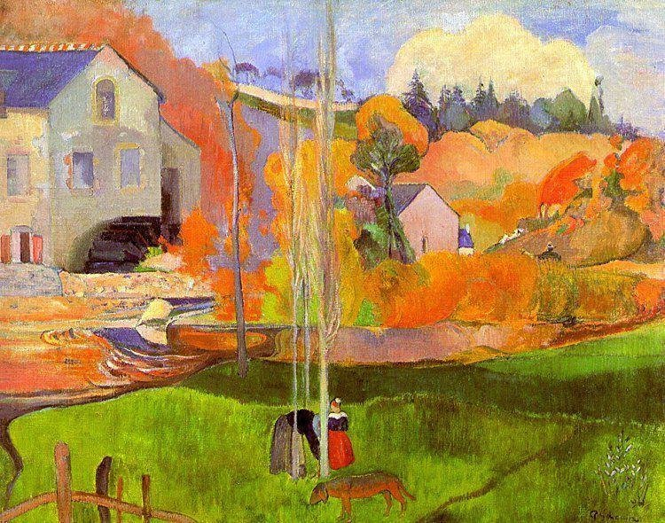 Breton Landscape 1894 | Paul Gauguin | oil painting