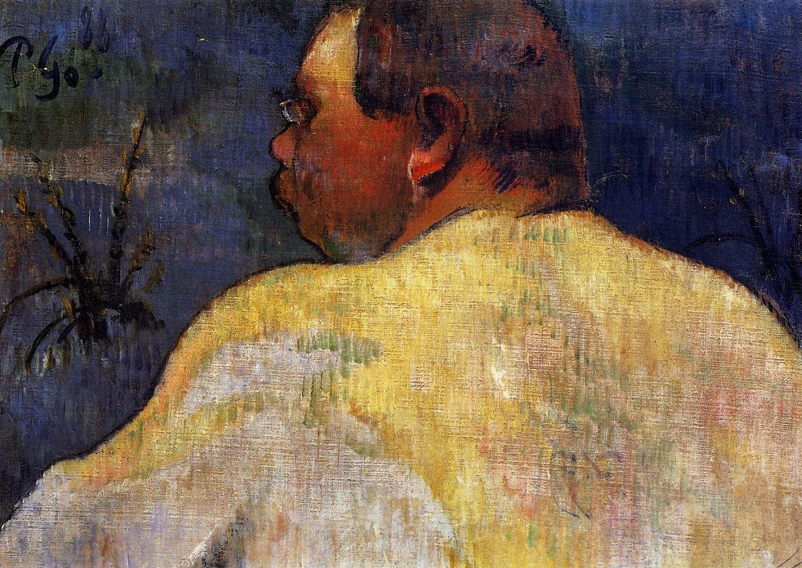 Captain Jacob 1888 | Paul Gauguin | oil painting