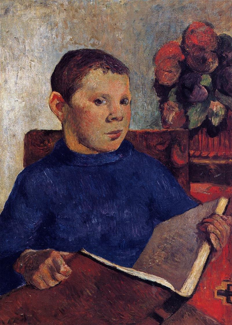 Clovis 1886 | Paul Gauguin | oil painting