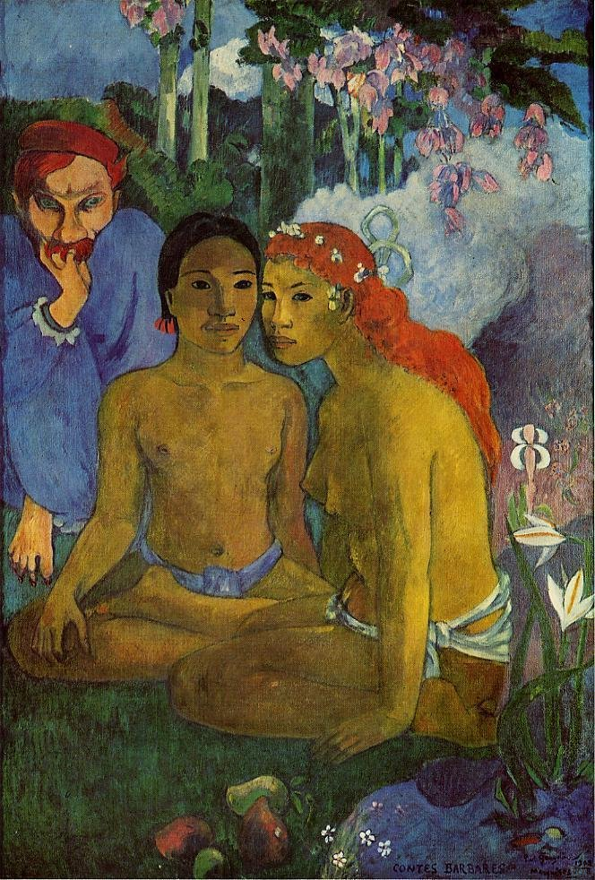 Contes Barbares (aka Primitive Tales) 1902 | Paul Gauguin | oil painting