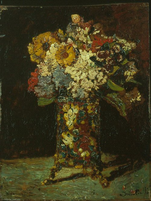 Bloemstilleven 1875 | Adolphe Monticelli | oil painting