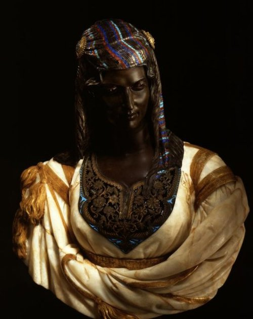 Jewess from Algiers 1862 | Charles Henri Cordier | oil painting