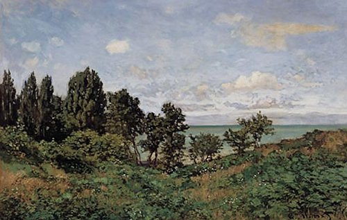 Kustlandschap 1864 | Claude Monet | oil painting