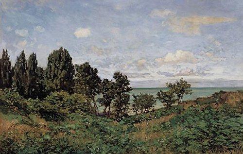 Kustlandschap 1864   Claude Monet   oil painting