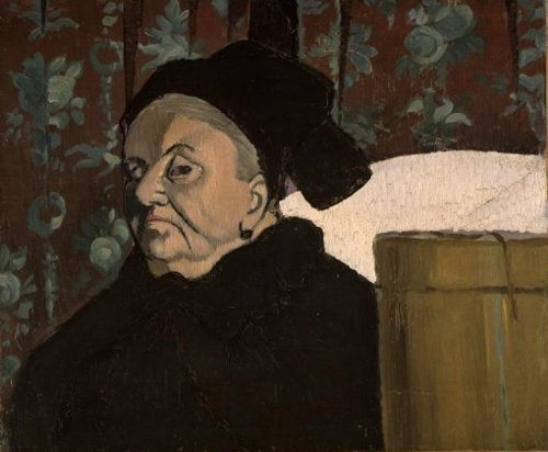 Bernards Grandmother 1887 | Emile Bernard | oil painting