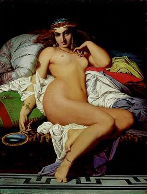 Phryne 1850 copy | Gustave Boulanger | oil painting