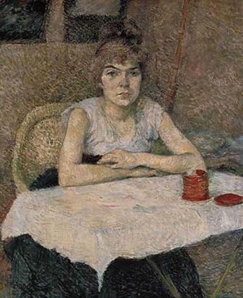 Poudre de riz 1887 | Henri de Toulouse Lautrec | oil painting