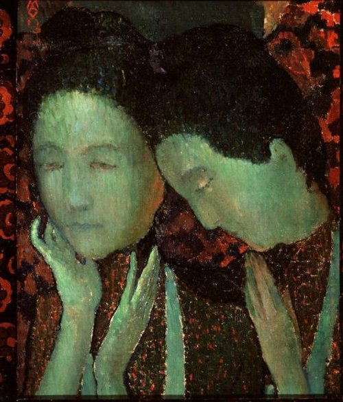The Two Sisters 1891 | Maurice Denis | oil painting